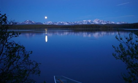 Fish Lake on Tsilhqot'in territory in British Columbia, where the Indigenous Tsilhqot'in nation has prevented a copper and gold mine from being built. Photograph: Friends of the Nemaiah Valley